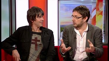 Jeff Forshaw y Brian Cox (BBC One Breakfast)