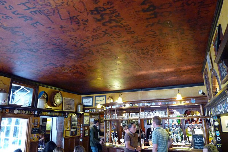 El pub Eagle en Cambridge
