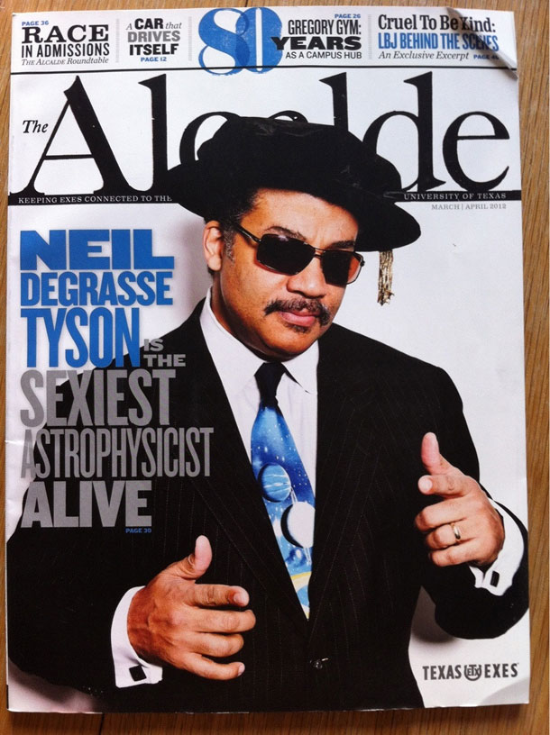 Neil deGrasse Tyson, el astrofísico más sexy