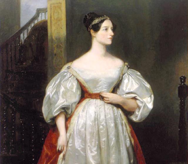 Ada Byron, condesa de Lovelace: la primera programadora. Fuente: Wikipedia.