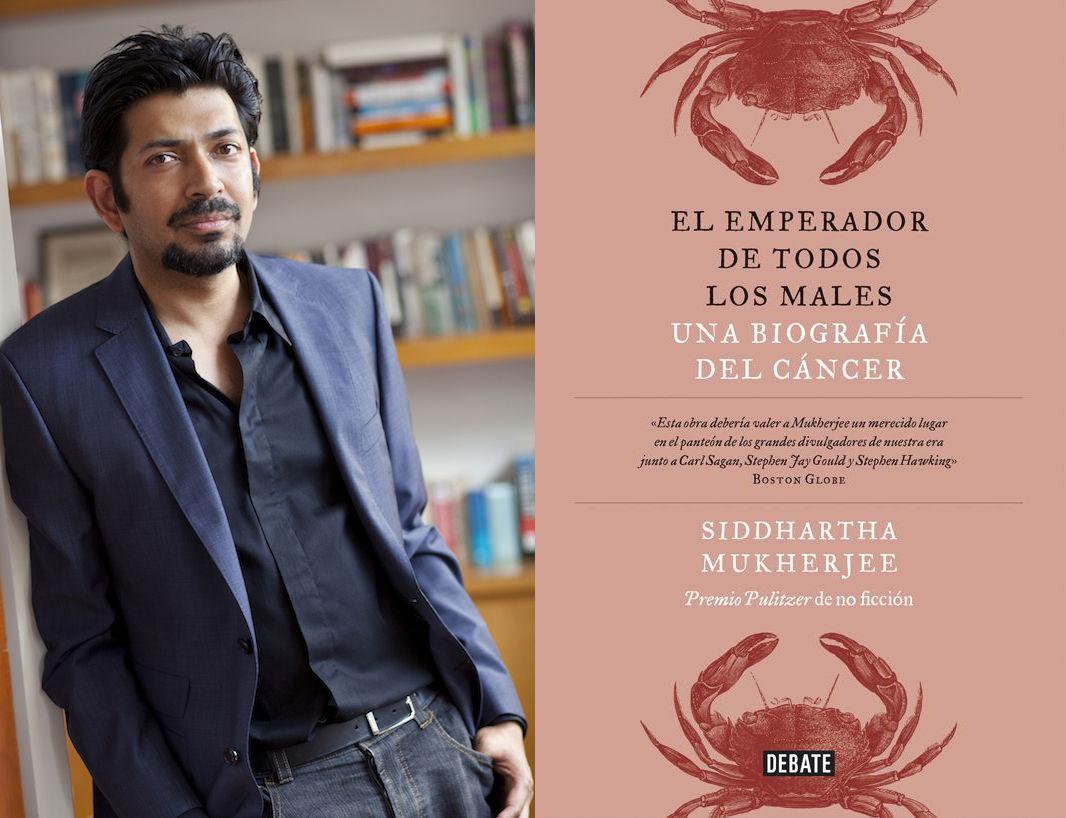 Siddhartha Mukherjee, autor de El emperador de todos los males (Debate, 2014)