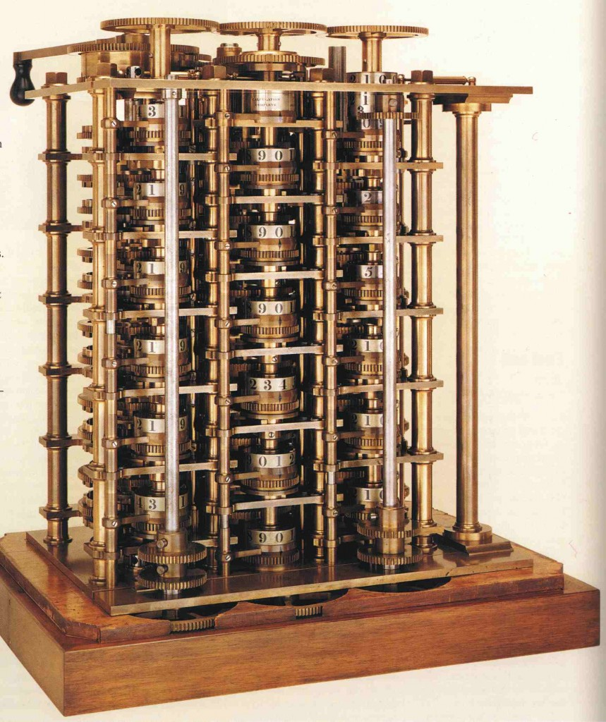 Máquina diferencial de Babbage | Por amor a la ciencia