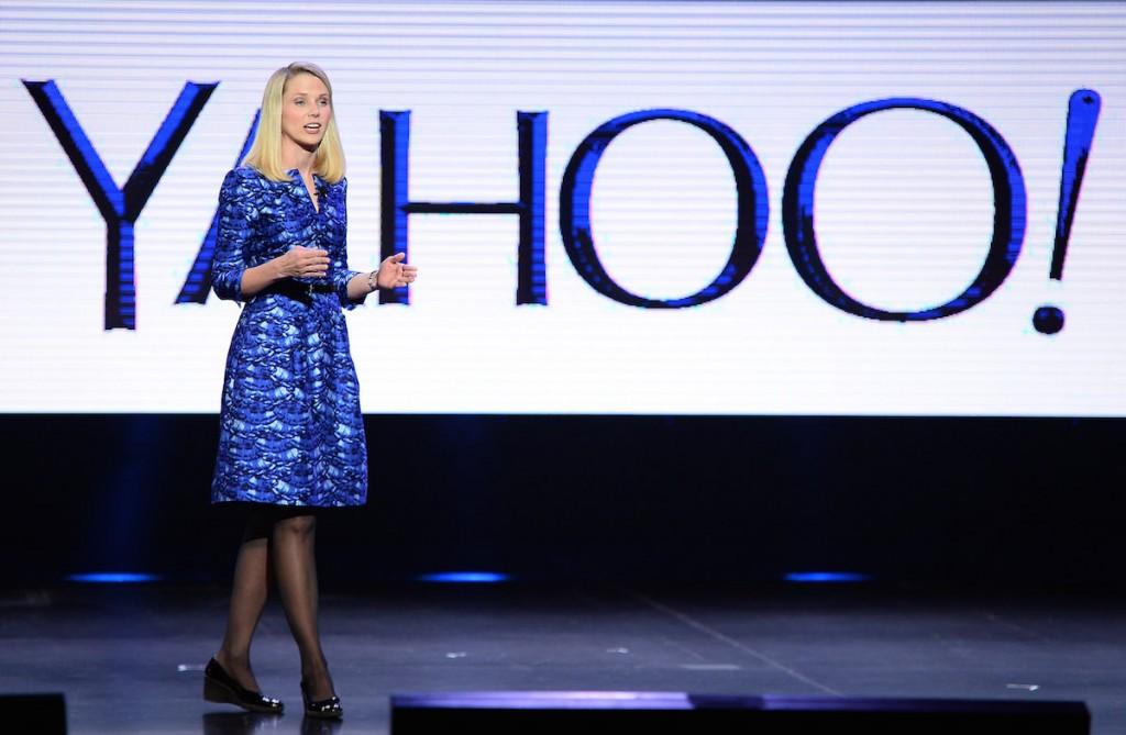 Marissa Mayer, directora ejecutiva de Yahoo!