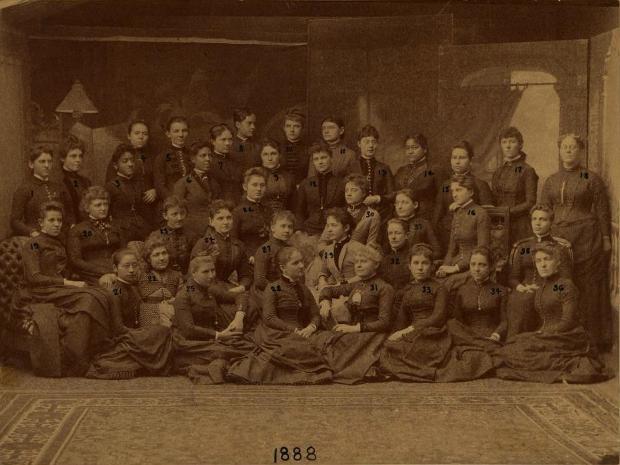 Fotografía del curso de 1888 del WMCP | Por amor a la ciencia