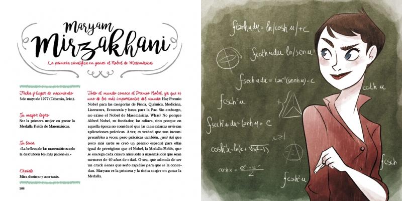 Maryam Mirzakhani, la primera científica en ganar el «Nobel de Matemáticas»