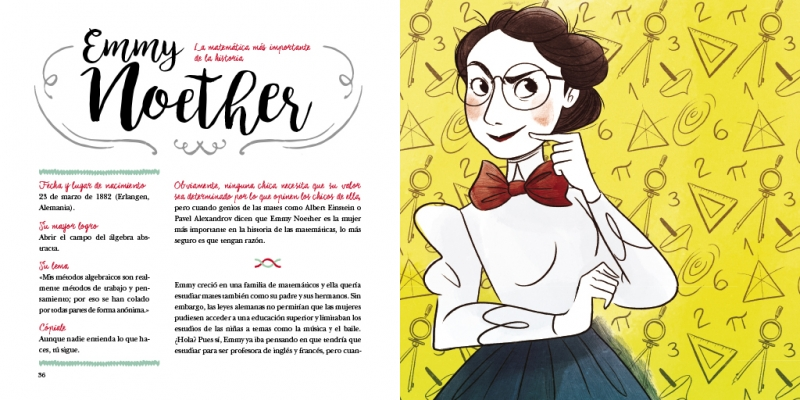 Emmy Noether, la matemática más importante de la historia