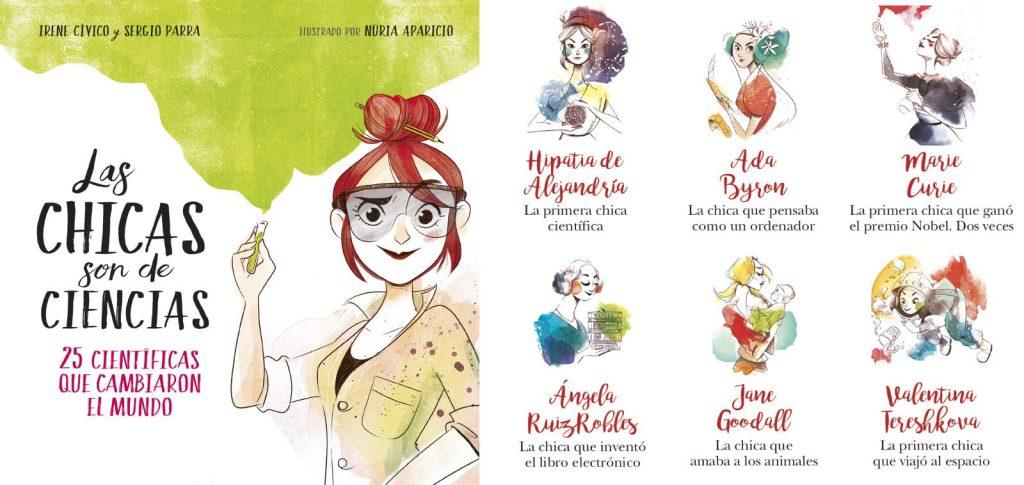 Irene_Civico_Sergio_Parra-Las_chicas_son_de-ciencias-portada_cientificas_3