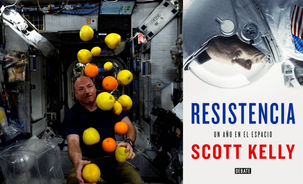 Este fue uno de los experimentos científicos más delicados que Kelly llevó a cabo durante su año en el espacio…